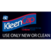 KleenCap Use Only New or Clean