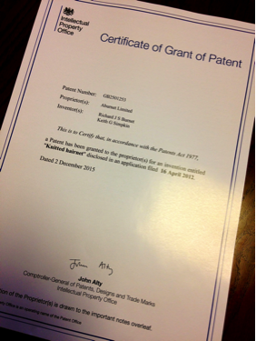 ABurnet Granted Patent Approval